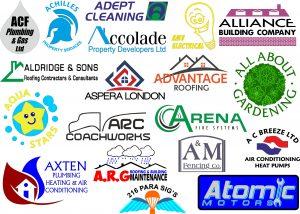 Company logos printed or embroidered staff uniforms company logos voltagebd Gallery